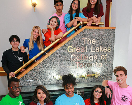Students of The Great Lakes College of Toronto